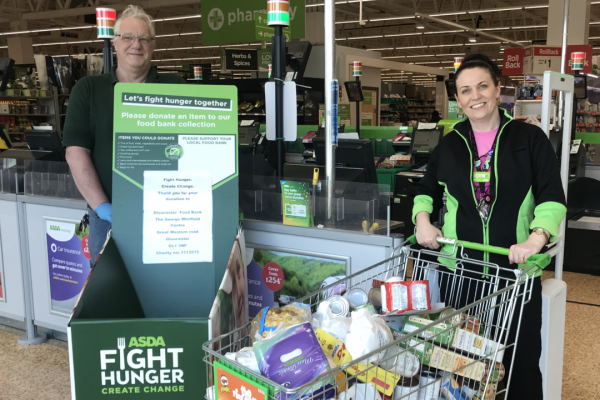Gloucester Food Bank Trussell Trust  | Asda Gloucester