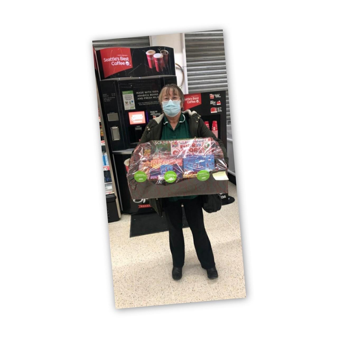 Donation to Seaton Hall Care Home | Asda Hartlepool