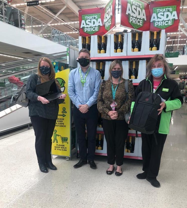 Kings Rise Academy Primary receives laptops | Asda Queslett