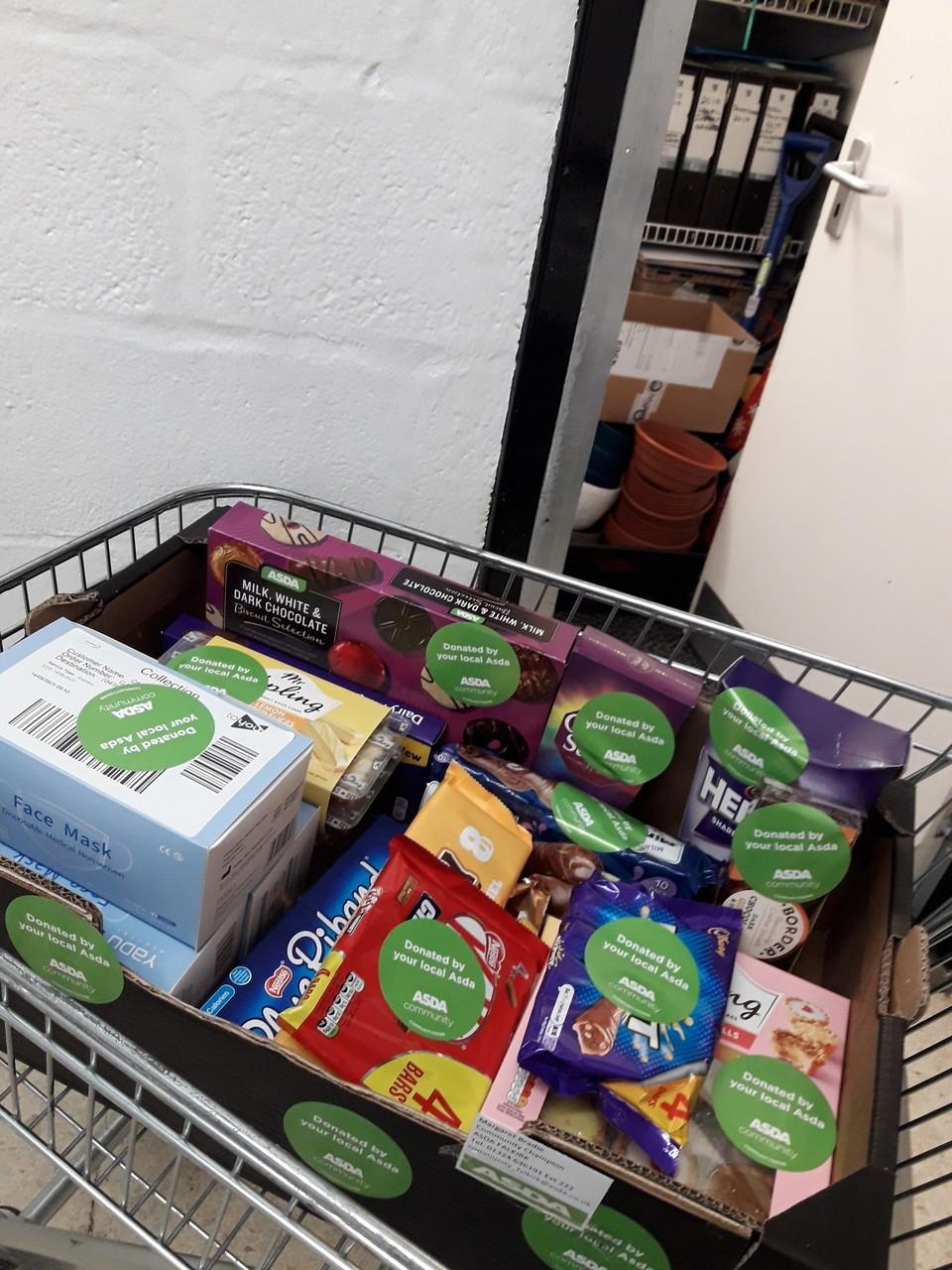 DONATION | Asda Falkirk