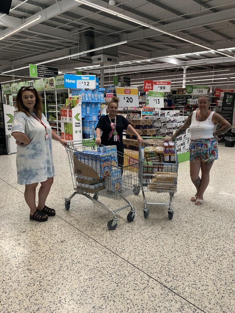 Food donation | Asda Middleton