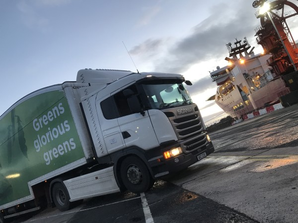 Lorry driver Ian captures stunning pictures on his rounds