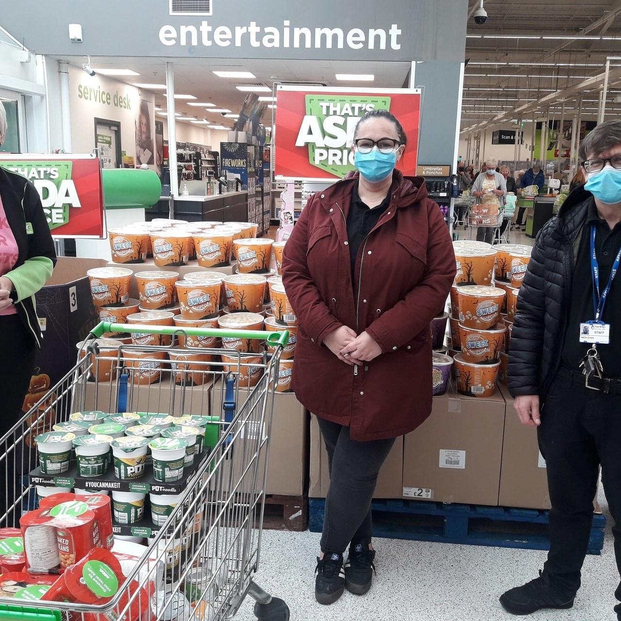 Donation to Teardrops  | Asda St Helens