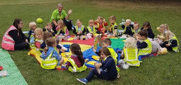 BBC Children in Need picnic with Asda Harrogate