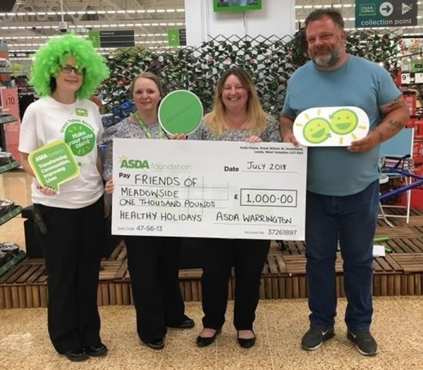 Asda Warrington Healthy Holiday Fund