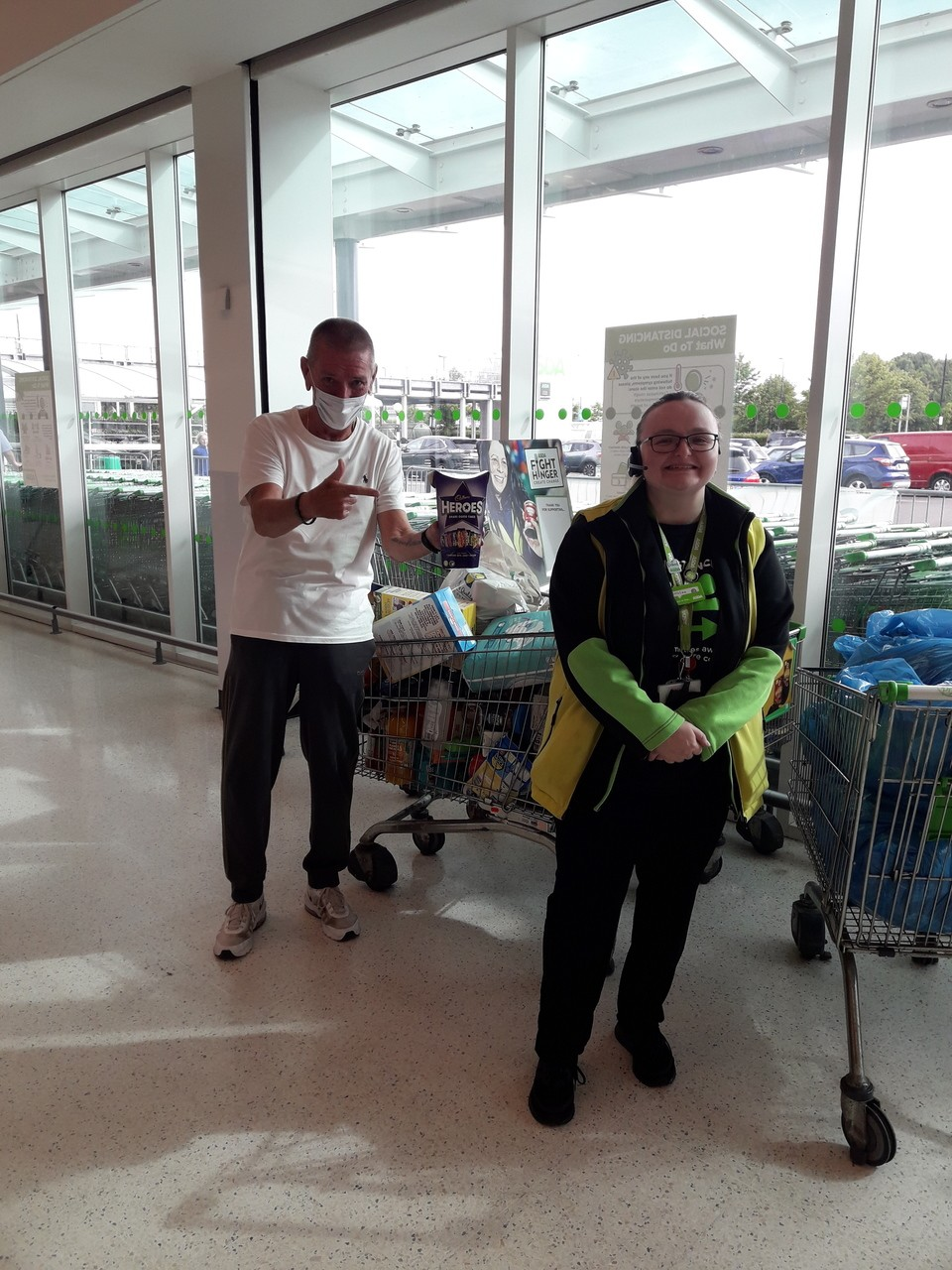 Hamilton District Foodbank | Asda Hamilton