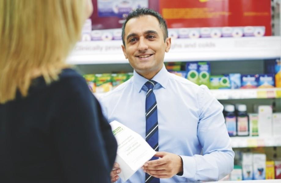 Maq Din in Asda Pharmacy