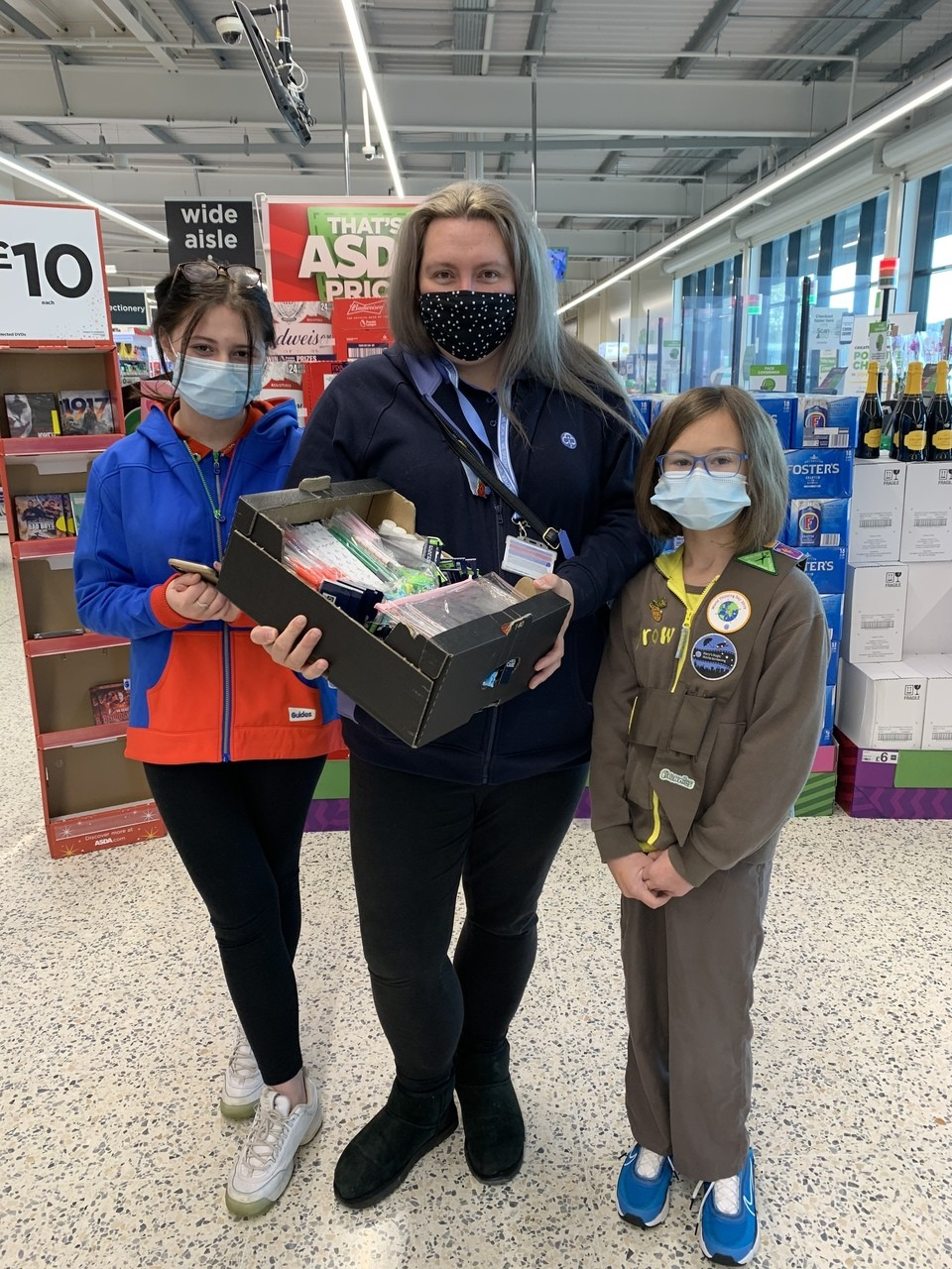 1st Clacton rainbows, brownies and guides | Asda Clacton-on-Sea
