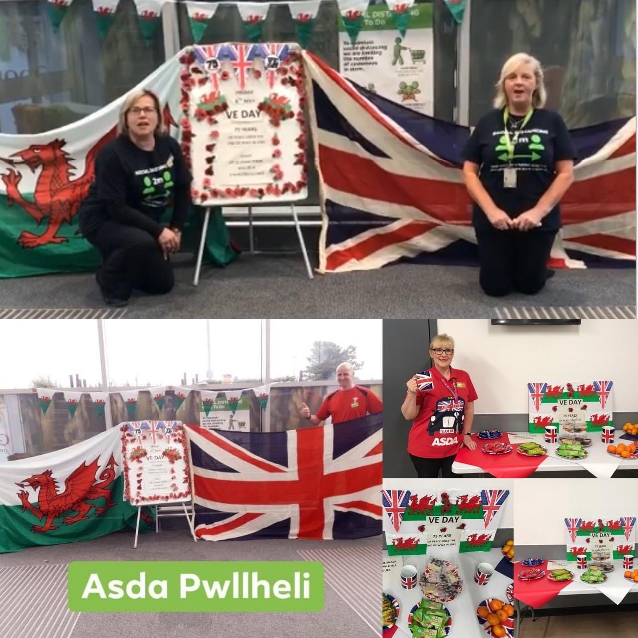 VE Day at Asda Pwllheli | Asda Pwllheli