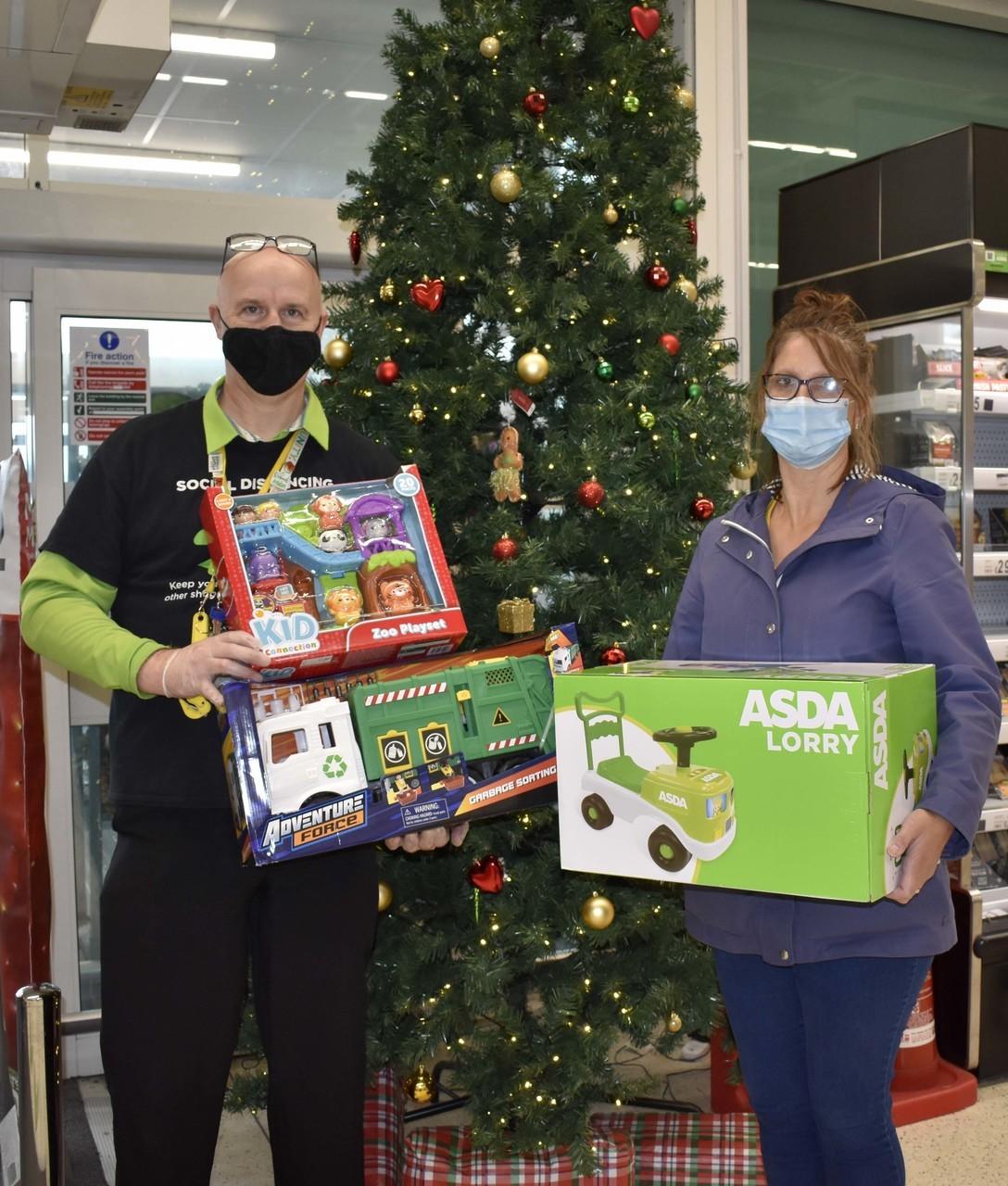 Christmas Toy Bank | Asda Bideford