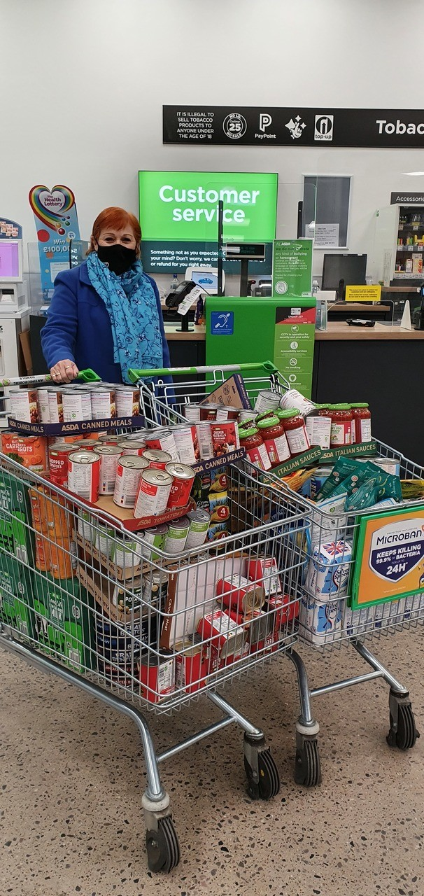 Swanscombe Food Cellar donation | Asda Greenhithe