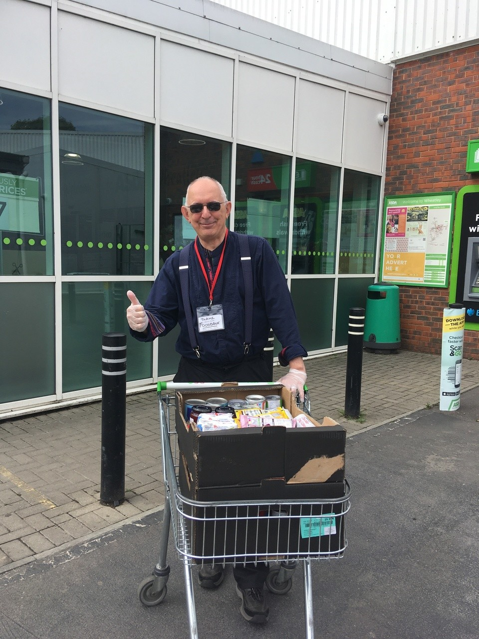Donation to Sharing Life Trust | Asda Wheatley