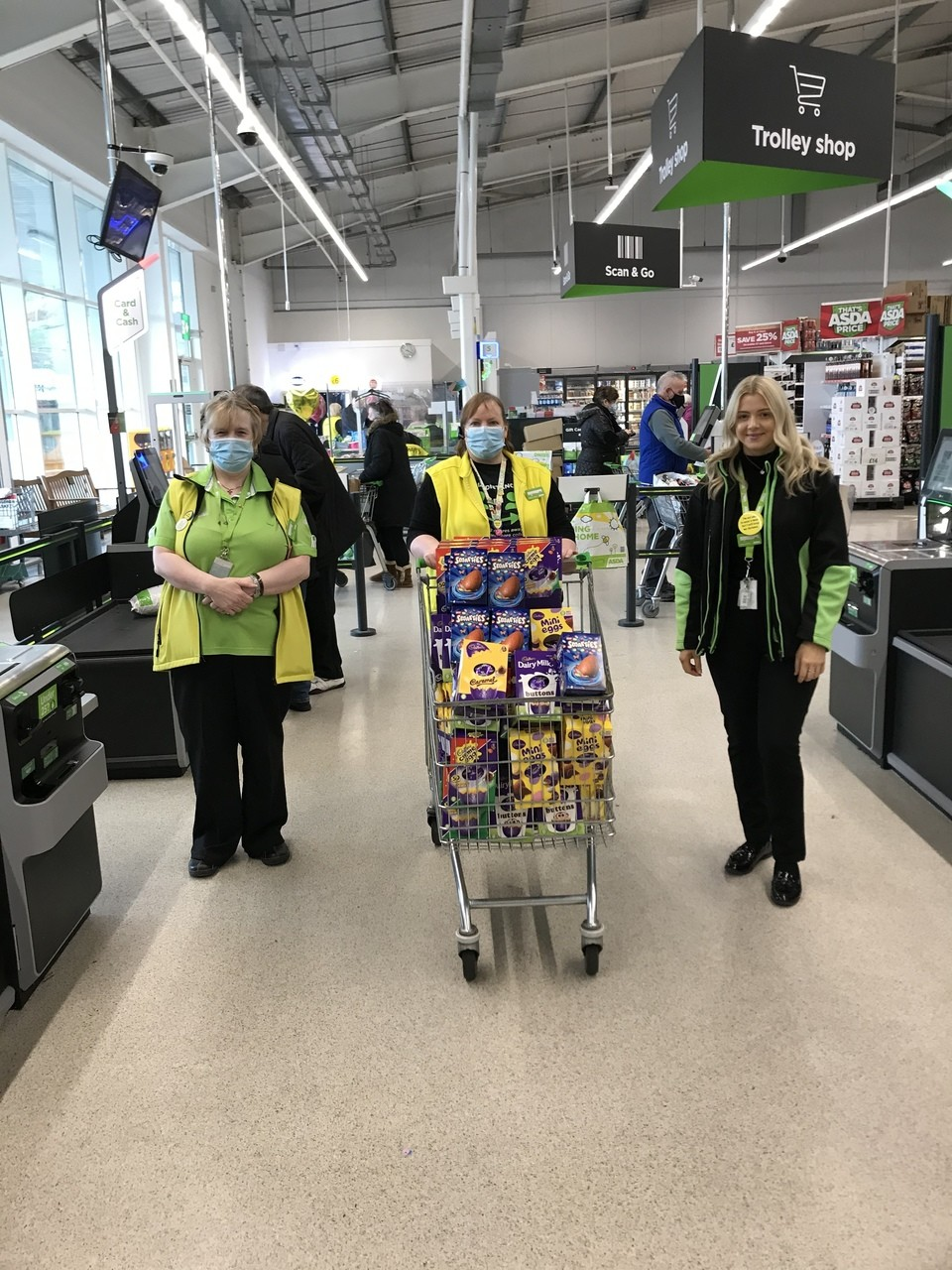 Colleagues step up | Asda Tonypandy