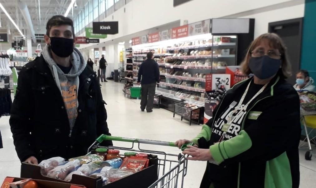 Fighting hunger at Hapi Hub | Asda Westbrook