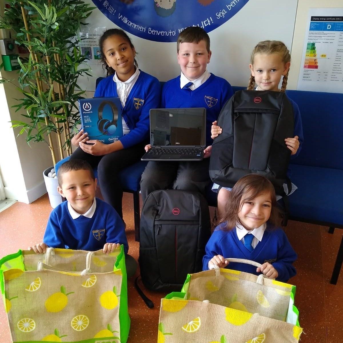 Pupils love new laptops from Asda | Asda Aintree