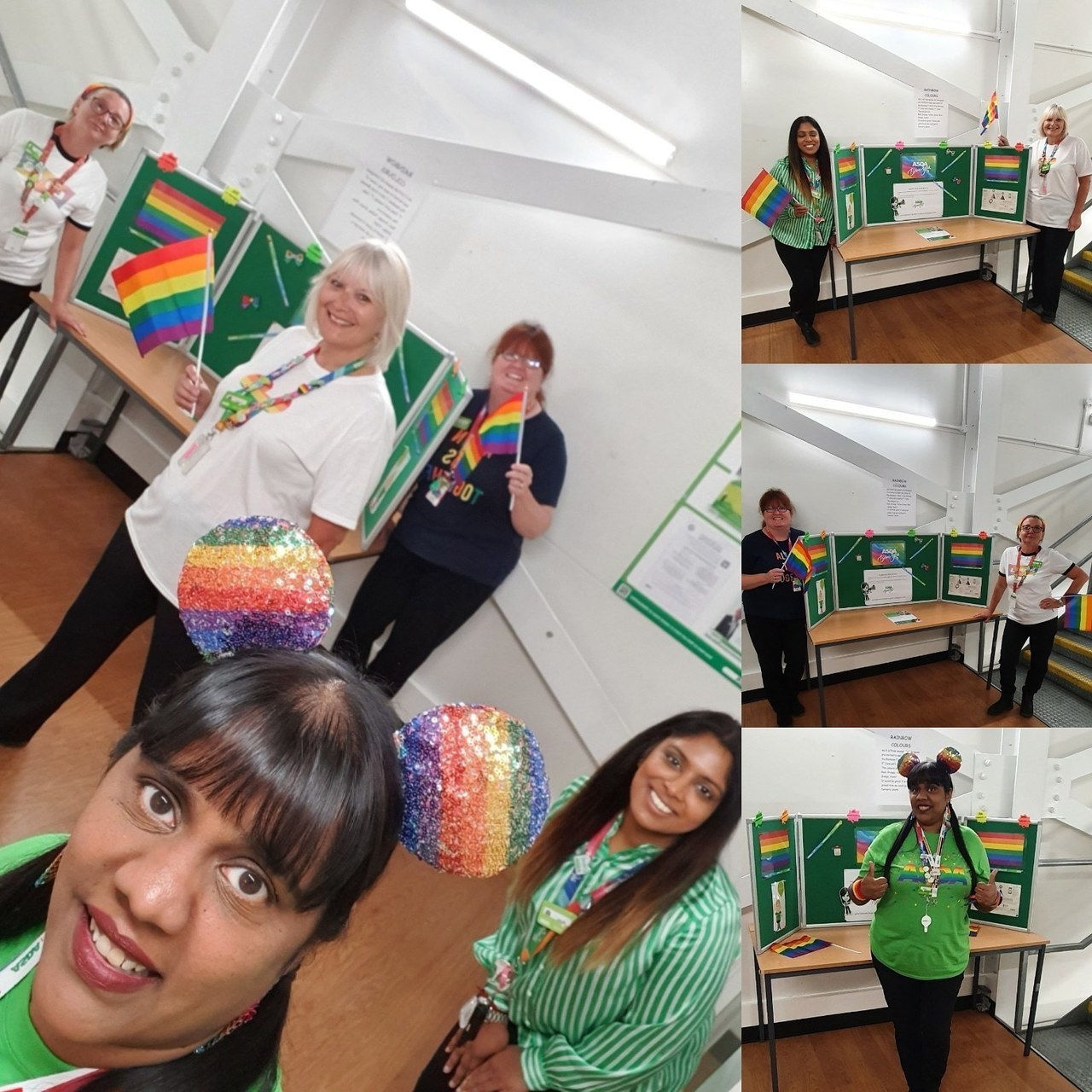 "Asda Hayes supporting ""Pride"" 🏳️‍🌈  