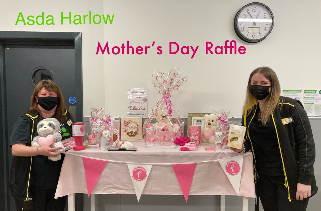 Mother's Day Tickled Pink Colleague Raffle | Asda Harlow