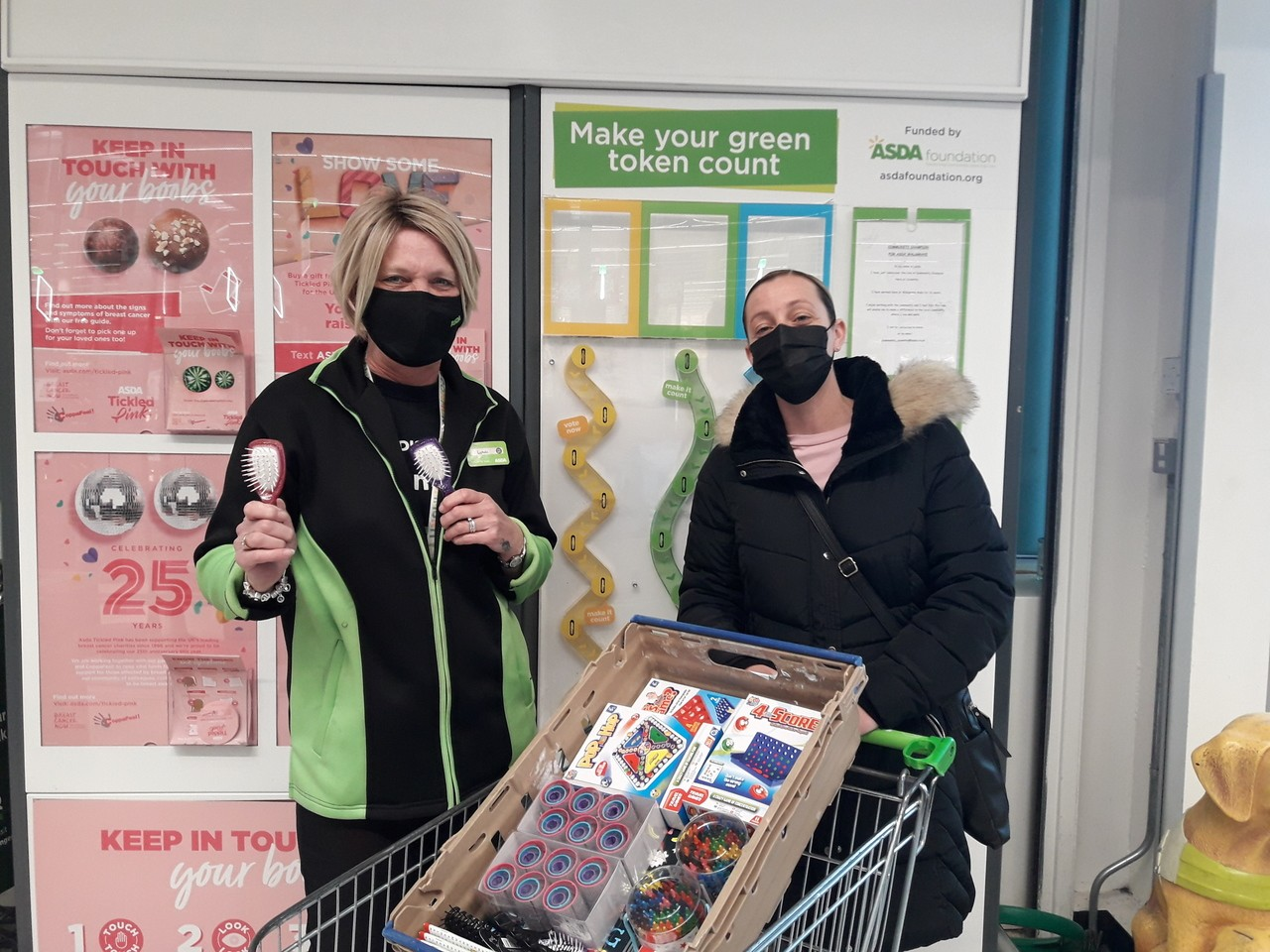 Coventry University Hospital asked for donations to support their dementia patients | Asda Coventry