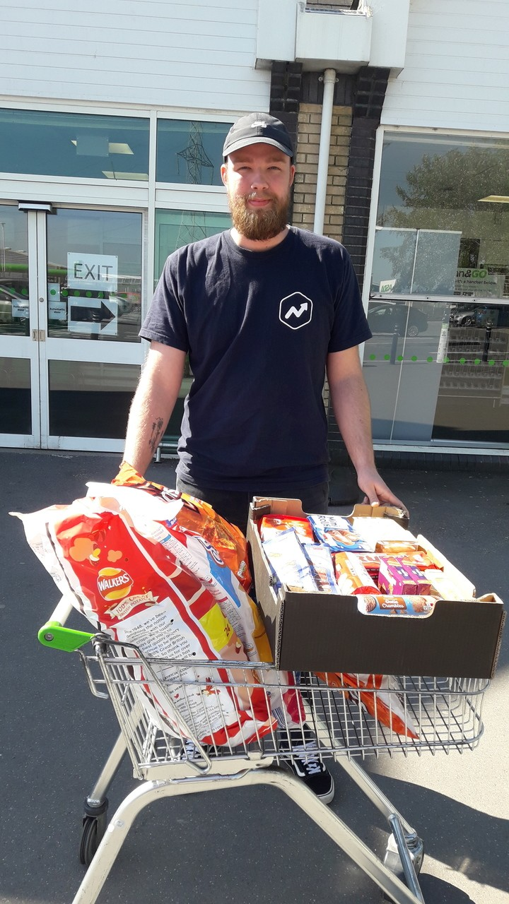 Donation to hospital workers | Asda Fareham