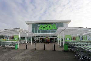 The store front of ASDA in the UK