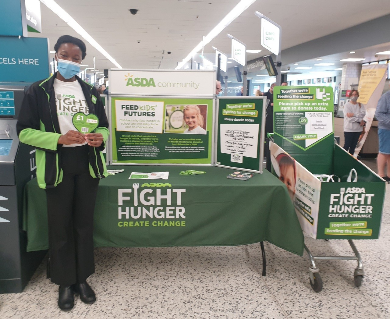 Supporting Fight Hunger Create Change | Asda Killingbeck