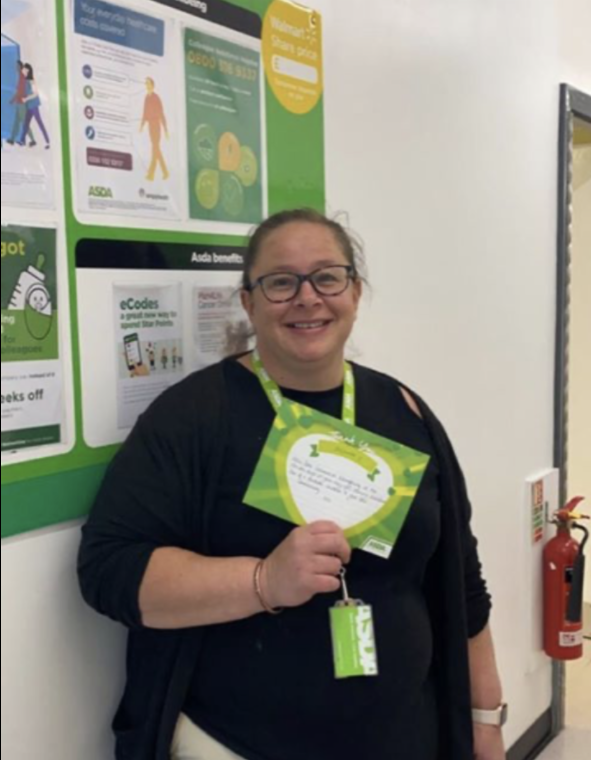 Saying a special thank you to Suzanne from Asda Ayr | Asda Ayr