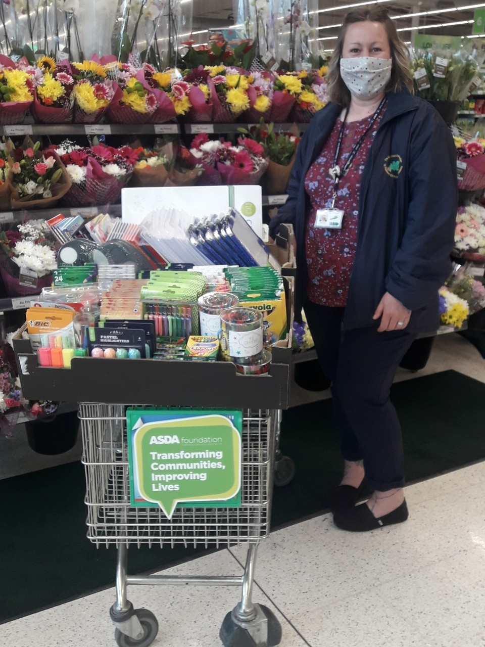 Supporting Communities Donation for St Thomas' Primary Academy | Asda Boston