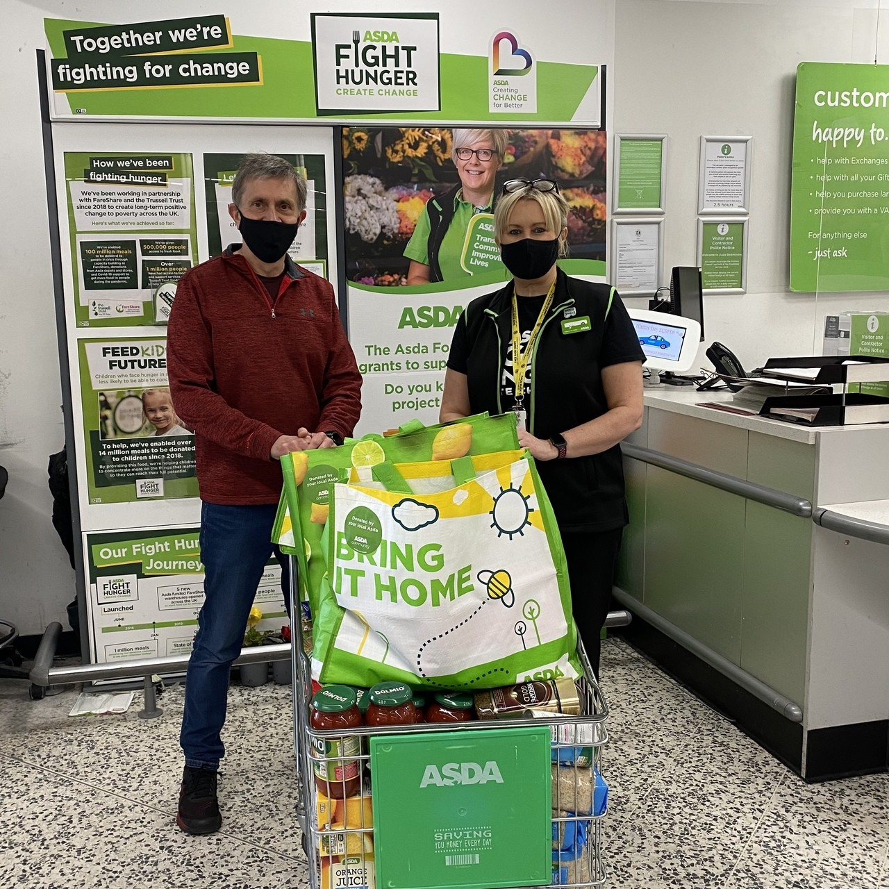 Supporting communities Grant | Asda Bedminster