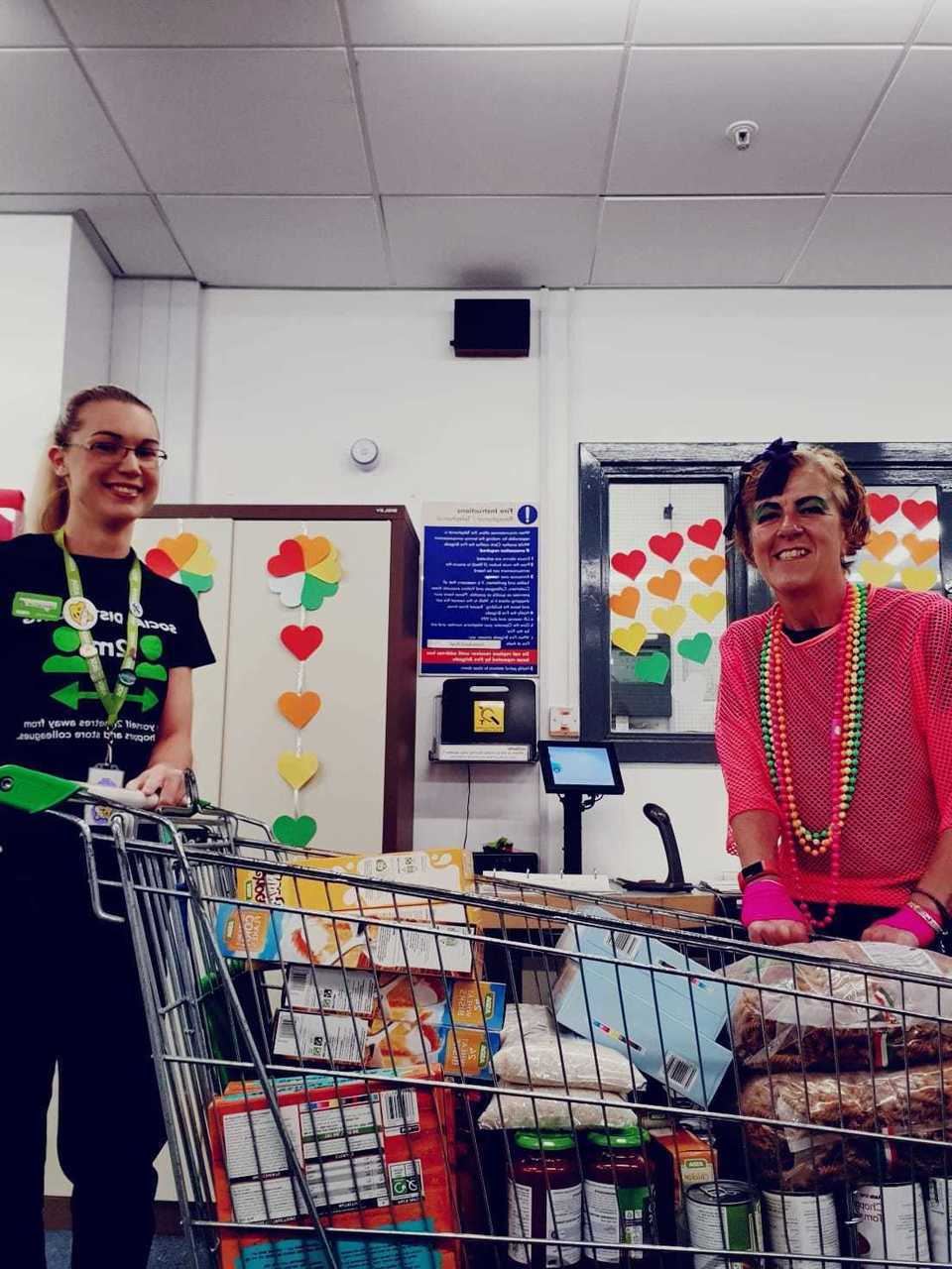 Food bank donation | Asda Bishop Auckland
