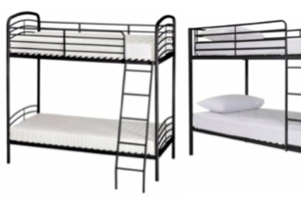 George Home Metal Bunk Bed