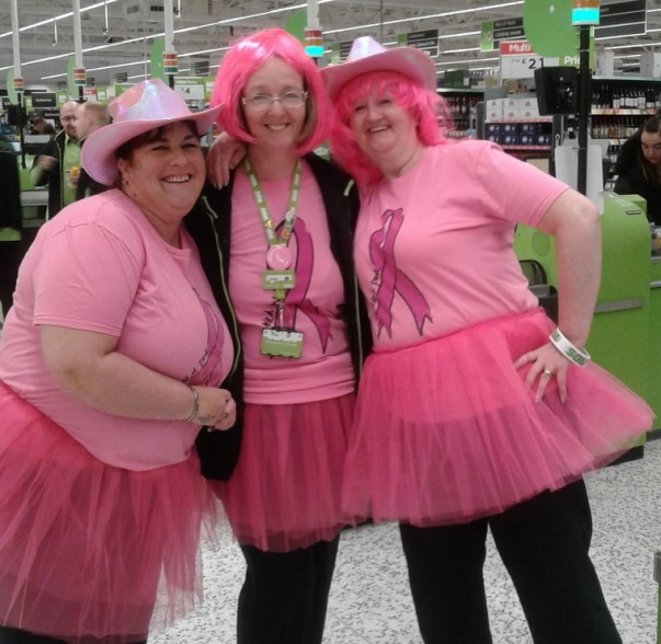 Asda Aintree colleagues Tickled Pink