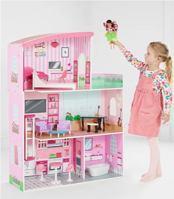 Wooden toys - Fashion dolls' house