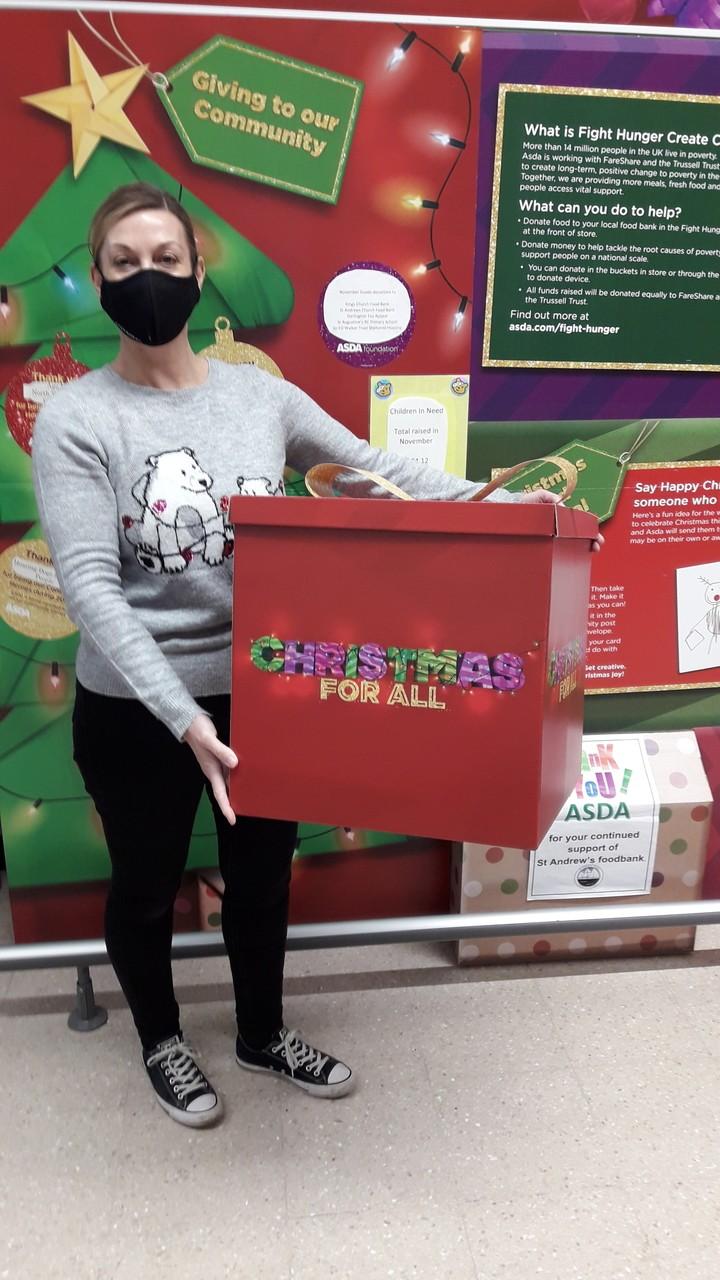 Goods Donation to Age UK in Darlington | Asda Darlington