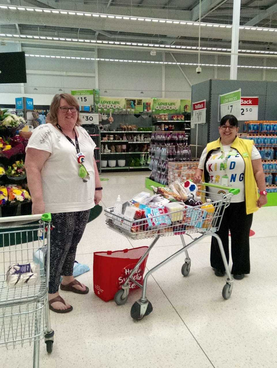 Riverside School donation | Asda Worcester