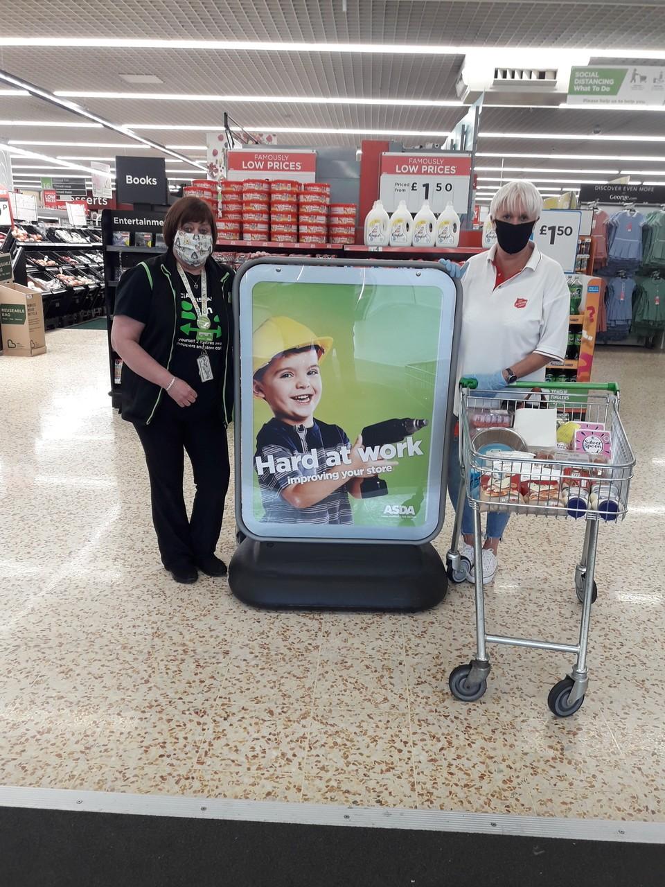 Customers excited by Asda Cramlington store refit | Asda Cramlington