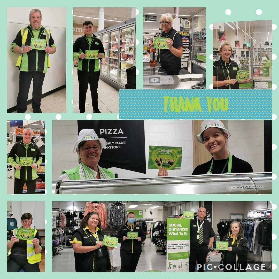 Thank you for colleagues | Asda Falkirk