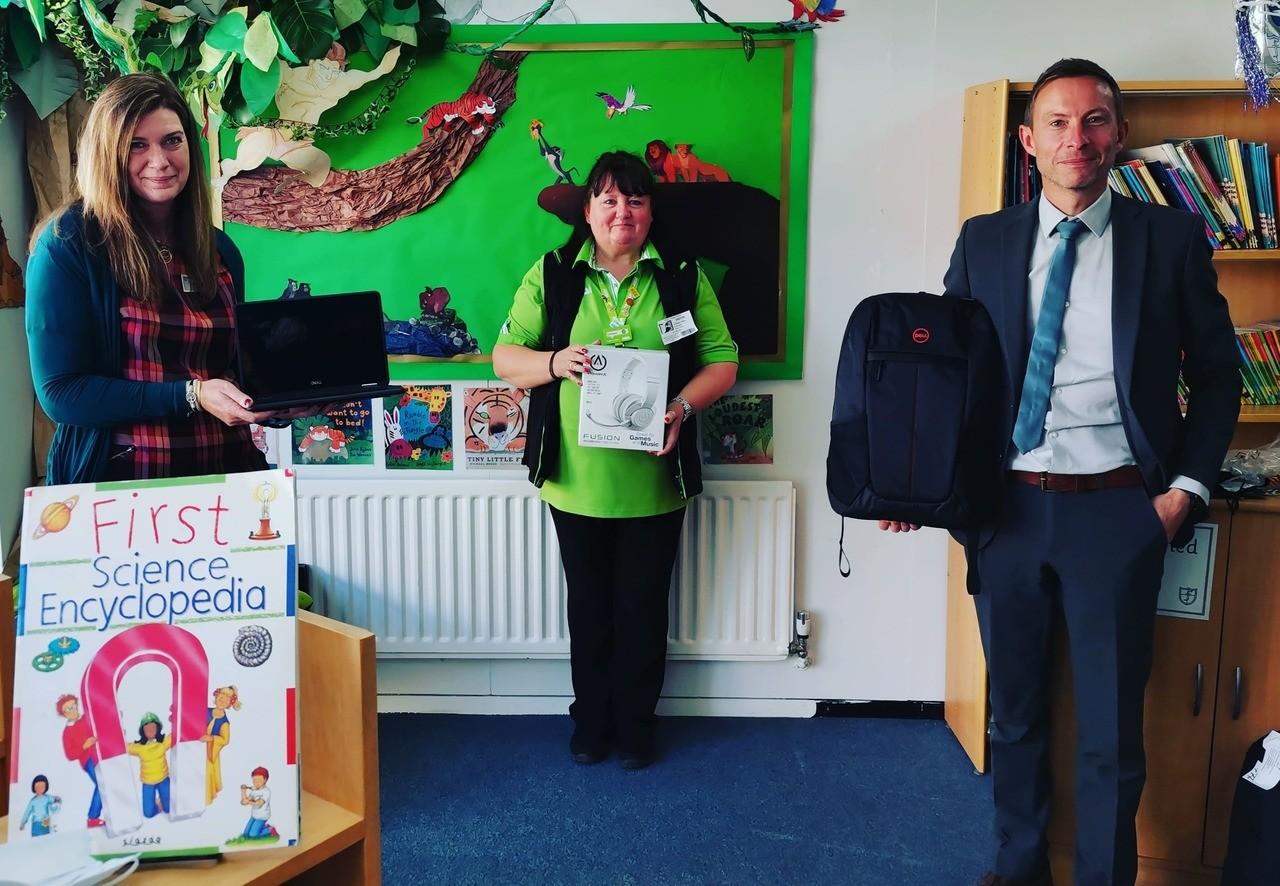 New laptops for Friars Primary School and Nursery | Asda Shoebury