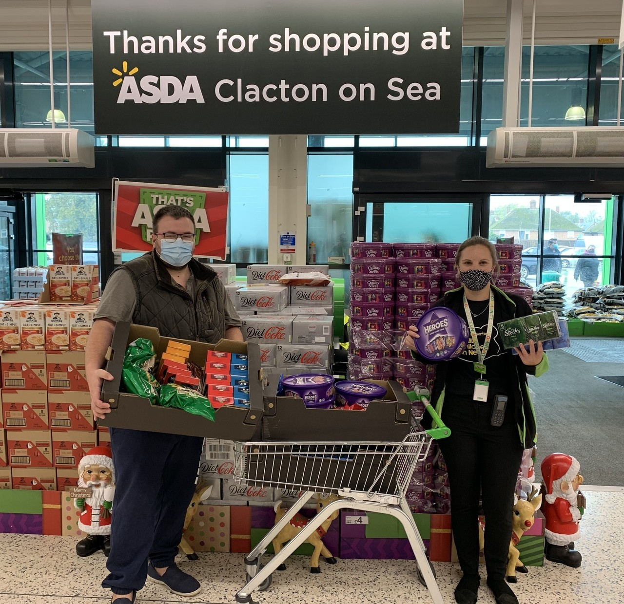 United in Kind donation | Asda Clacton-on-Sea