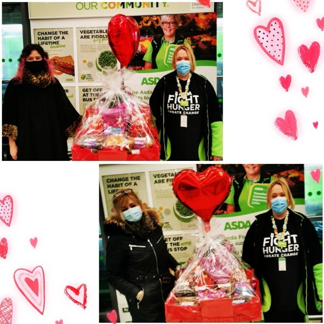Spreading the love to a couple of care homes for Valentines day | Asda St Leonards on Sea