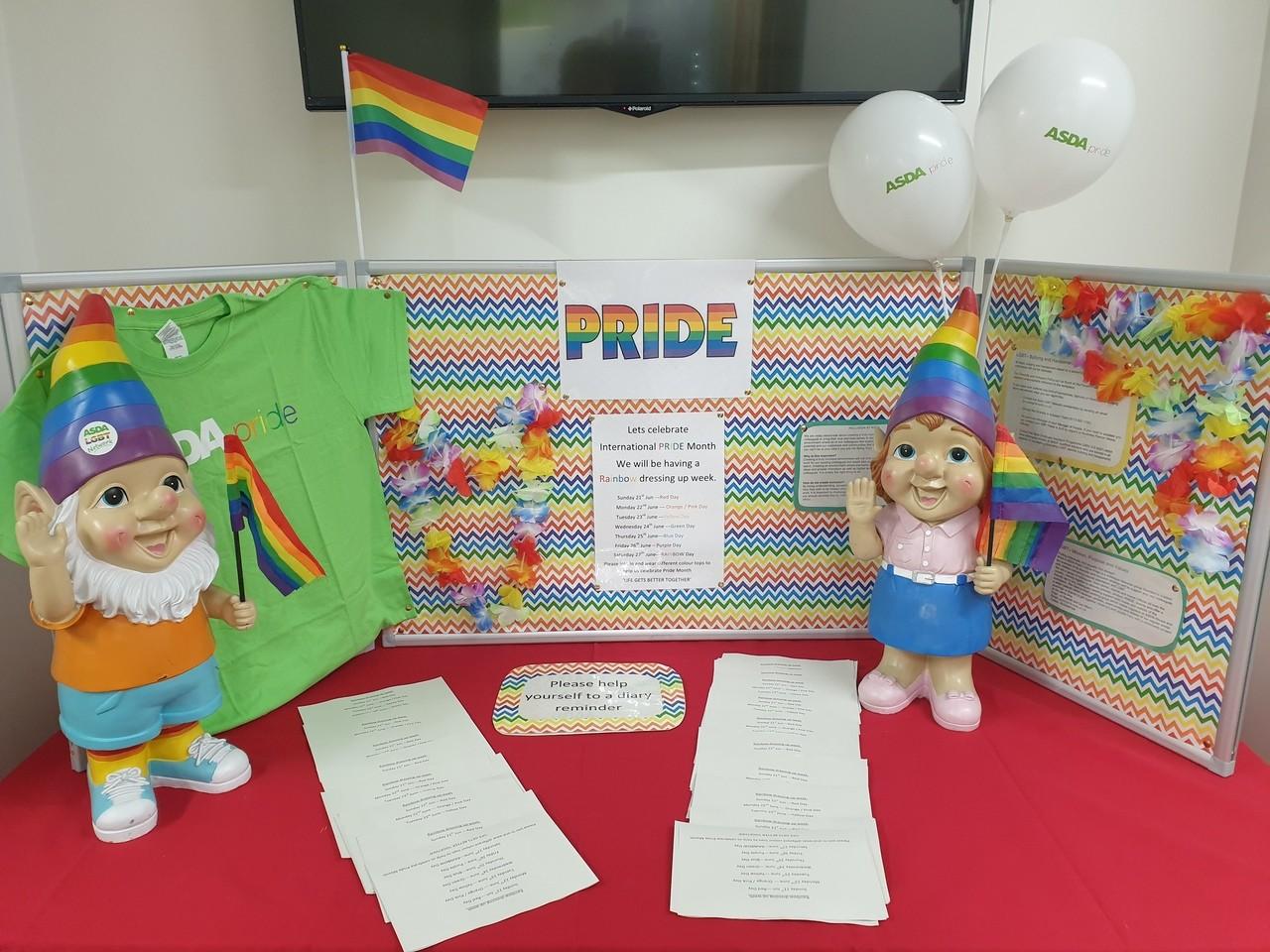 Celebrating Pride | Asda Newport Isle of Wight
