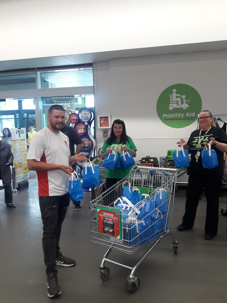 Night Shelter donation  | Asda Patchway