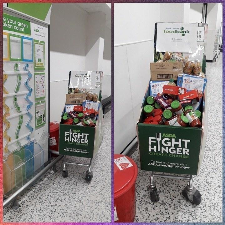 Food bank support | Asda Aintree