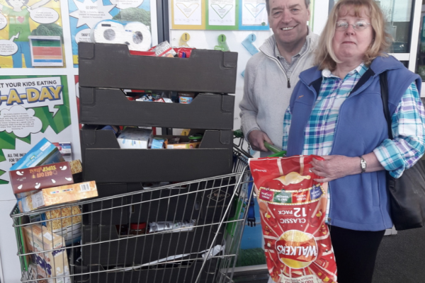 Asda Bootle  supports South Sefton Food Bank