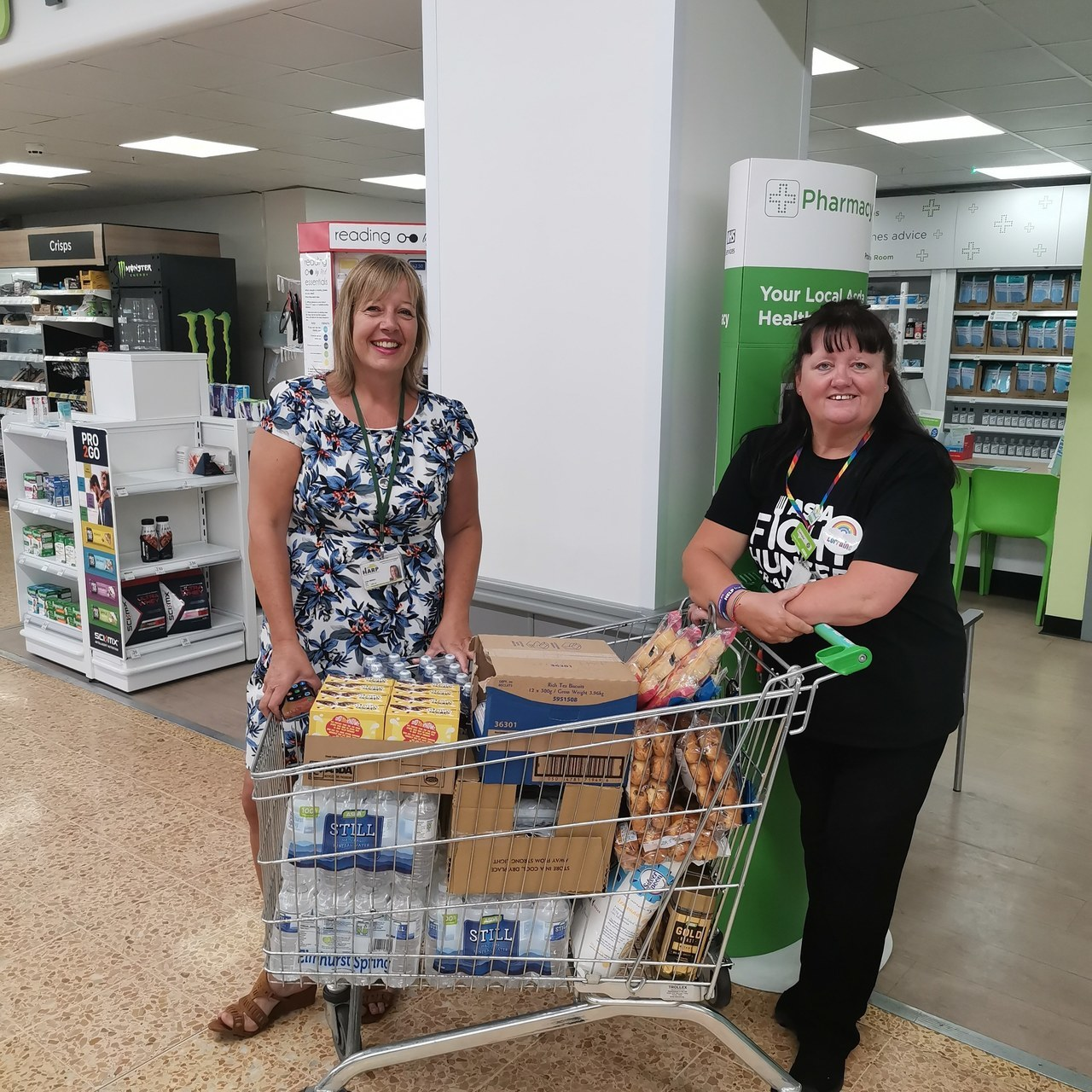 Harp Southend donation | Asda Shoebury