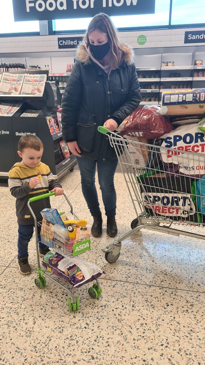 Meet happy shopper Jed | Asda Newport Isle of Wight