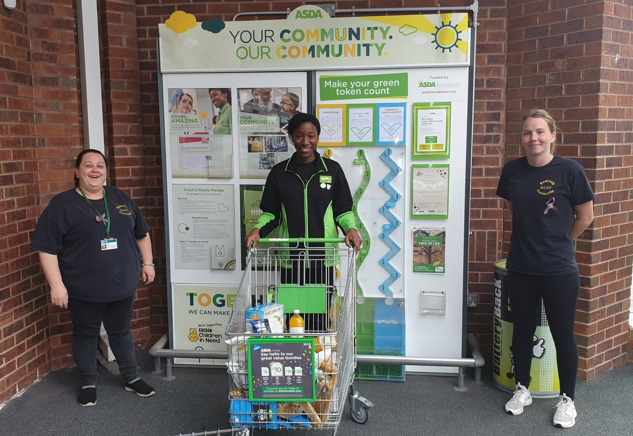 S.C.O.T group shopping for Seacroft residents who can't get out | Asda Killingbeck