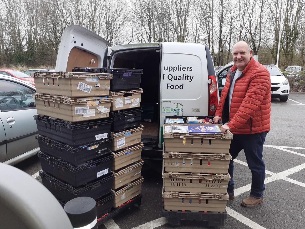 Proud to support Newport Foodbank | Asda Newport