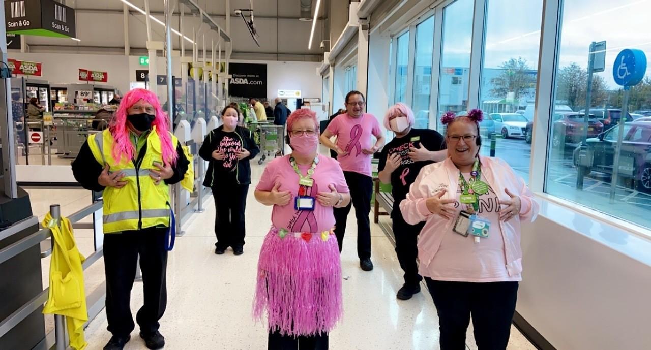 Tickled pink fundraiser | Asda Hessle