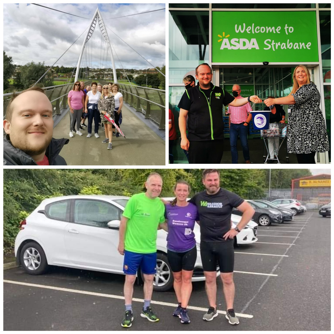 Colleagues step out to raise money for Foyle Hospice  | Asda Strabane
