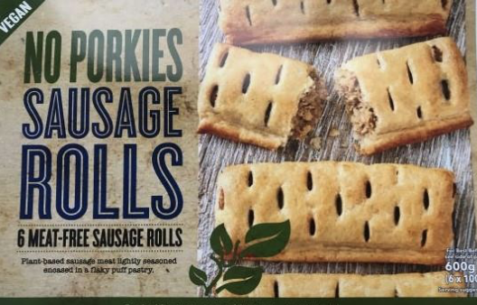 No Porkies Meat-Free Sausage Rolls